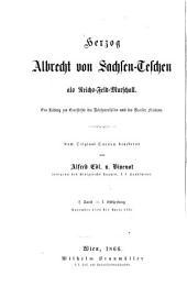 Herzog Albrecht von Sachsen-Teschen als Reichs-Feld-Marschall