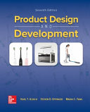 Loose Leaf For Product Design And Development Book PDF