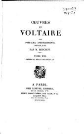 Oeuvres de Voltaire: Volume21