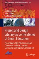 Project and Design Literacy as Cornerstones of Smart Education PDF