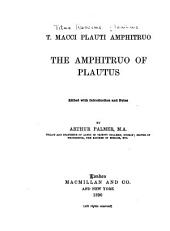 The Amphitruo of Plautus