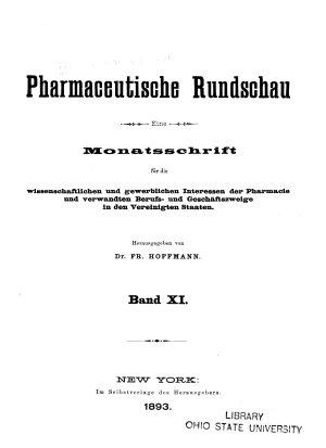 Pharmaceutische Rundschau