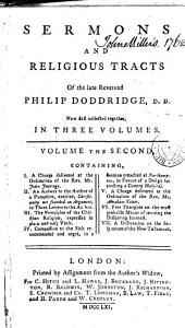 Sermons and religious tracts of the late Reverend Philip Doddridge: Volume 2