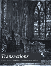 Transactions: Volumes 8-12