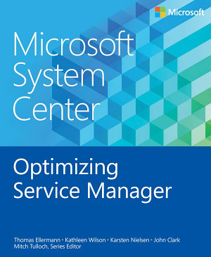 Microsoft System Center Optimizing Service Manager PDF