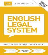Q&A English Legal System: Edition 11
