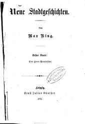 Neue Stadtgeschichten: Von Max Ring
