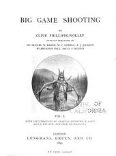 Big Game Shooting: Volume 1