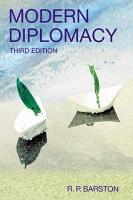 Modern Diplomacy PDF