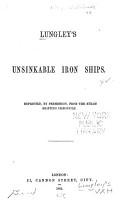 Lungley s Unsinkable Iron Ships     PDF