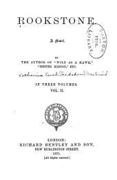 Rookstone: A Novel, Volume 2