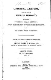 Original Letters, Illustrative of English History: 1400-1526