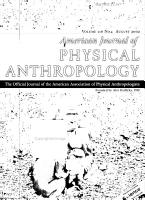 American journal of physical anthropology PDF