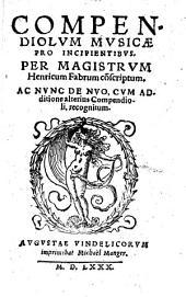 Compendiolum musicae