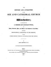 Cathedral Antiquities: Winchester. 1817. Lichfield. 1820
