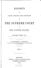 United States Reports: Cases Adjudged in the Supreme Court, Volume 46