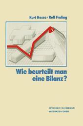 Wie Beurteilt Man eine Bilanz?: Ausgabe 18