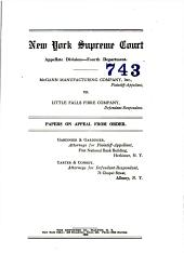 New York Supreme Court Appellate Division - Fourth Department