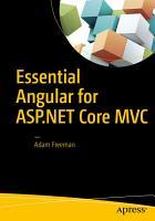 Essential Angular for ASP NET Core MVC PDF