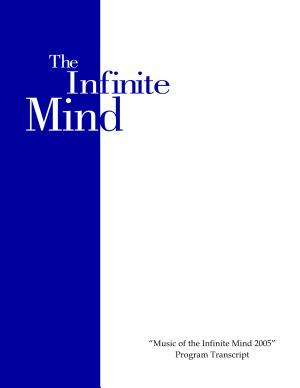 Music of The Infinite Mind 2005 PDF