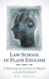Law School In Plain English