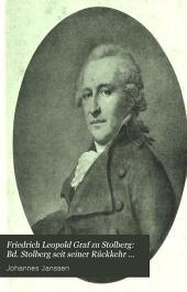 Friedrich Leopold Graf zu Stolberg: Bd. Stolberg seit seiner Rückkehr zur katholischen Kirche, 1800-1819