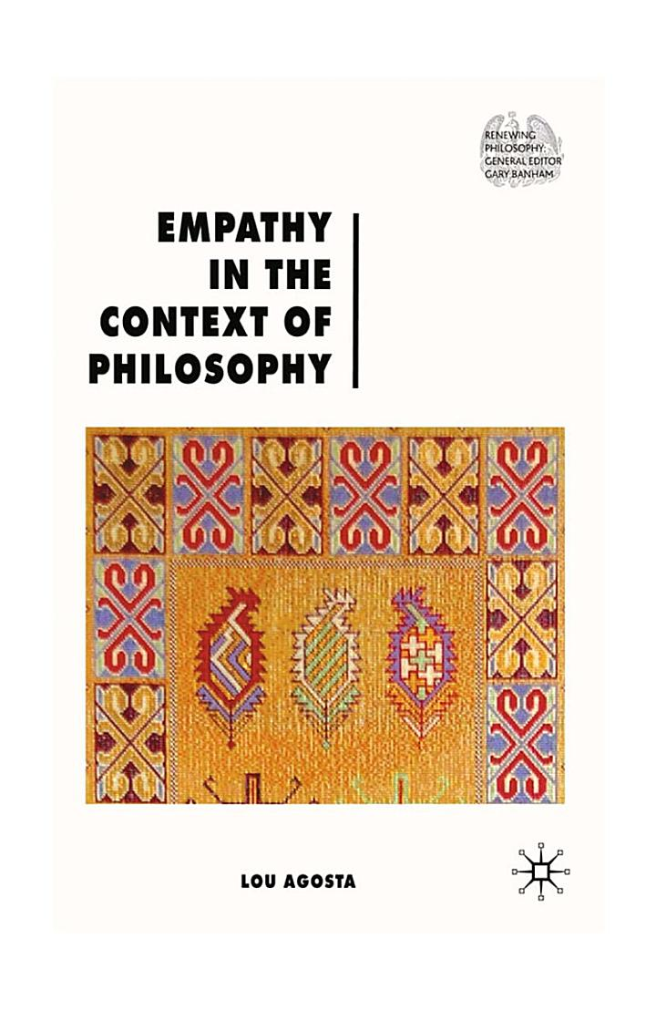 Empathy in the Context of Philosophy