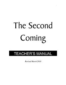 The Second Coming   Teacher s Manual PDF