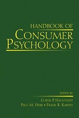 Handbook of Consumer Psychology PDF