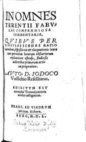 In omnes Terentii fabulas compendiosa commentaria