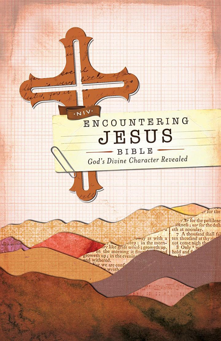 NIV, Encountering Jesus Bible, eBook