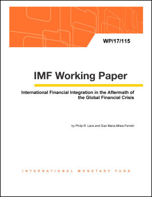 International Financial Integration in the Aftermath of the Global Financial Crisis