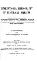Bibliographie Internationale Des Sciences Historiques PDF