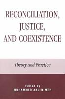 Reconciliation  Justice  and Coexistence PDF