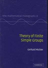 Theory Of Finite Simple Groups