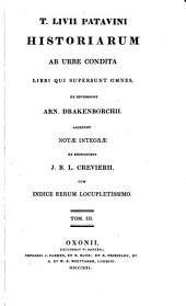 T. Livii Patavini Historiarum ab urbe condita libri qui supersunt, omnes: Volume 3