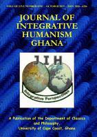 Journal of Integrative Humanism Vol  5 No  1 PDF