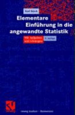 Elementare Einf  hrung in die angewandte Statistik PDF