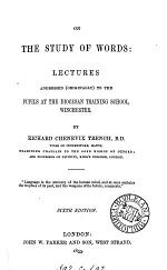 On the study of words, 5 lectures