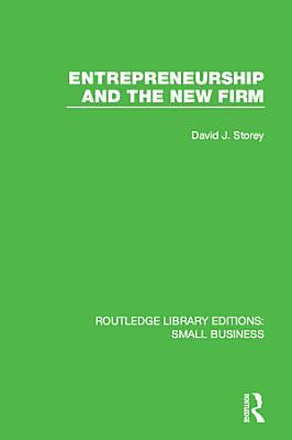 Entrepreneurship and New Firm