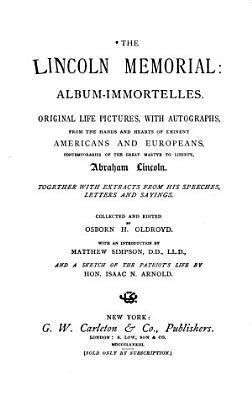 The Lincoln Memorial PDF