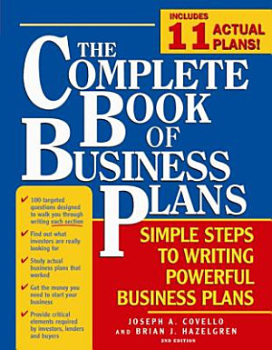 Complete Book of Business Plans PDF