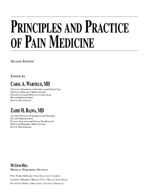 Principles   Practice of Pain Medicine  Second Edition PDF