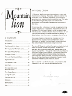 Mountain Lion PDF