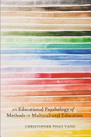 An Educational Psychology of Methods in Multicultural Education PDF