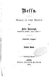 Bessy: Roman in sechs Bänden von Julia Kavanagh, Band 3