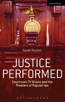 Justice Performed PDF