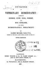 Outlines of Veterinary Homœopathy