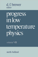 Progress in Low Temperature Physics