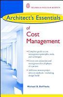 Architect s Essentials of Cost Management PDF